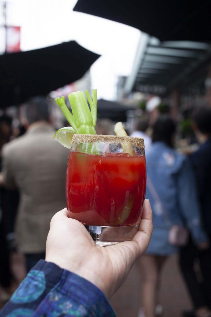 the keg cocktail hour caesar