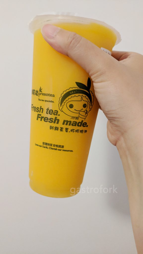 preso tea oakridge mango slush