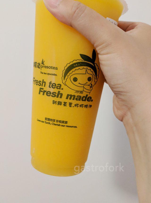 preso tea oakridge mango slush