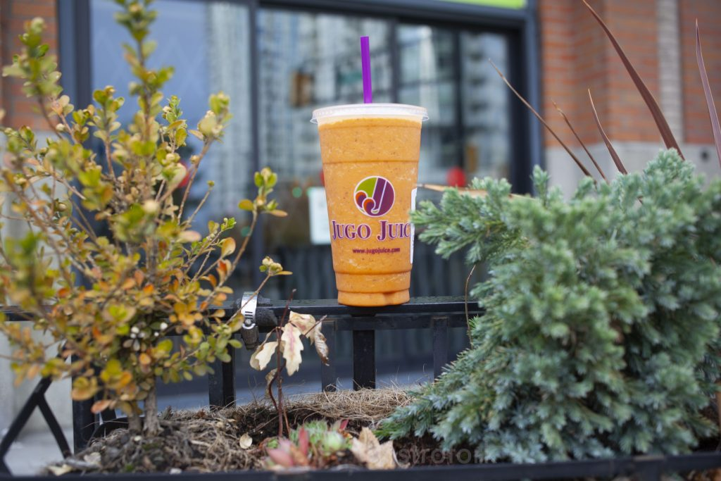 Jugo juice carrot cake smoothie