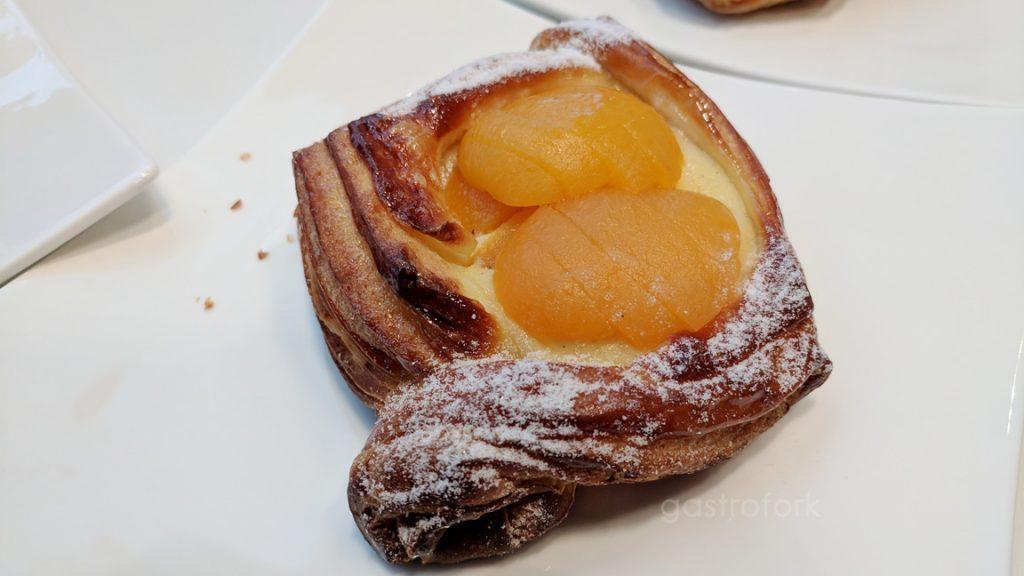 foret noire patisserie apricot danish