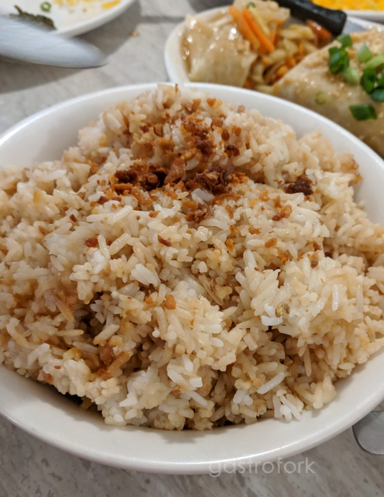la meza grill garlic rice bowl