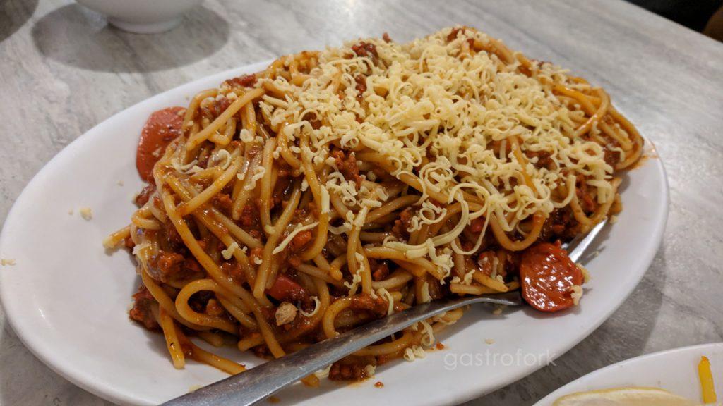 la meza grill spaghetti