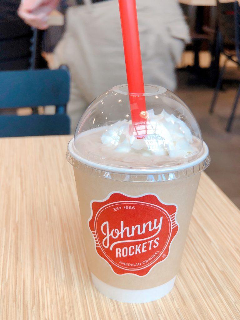 johnny rockets oak street milkshake