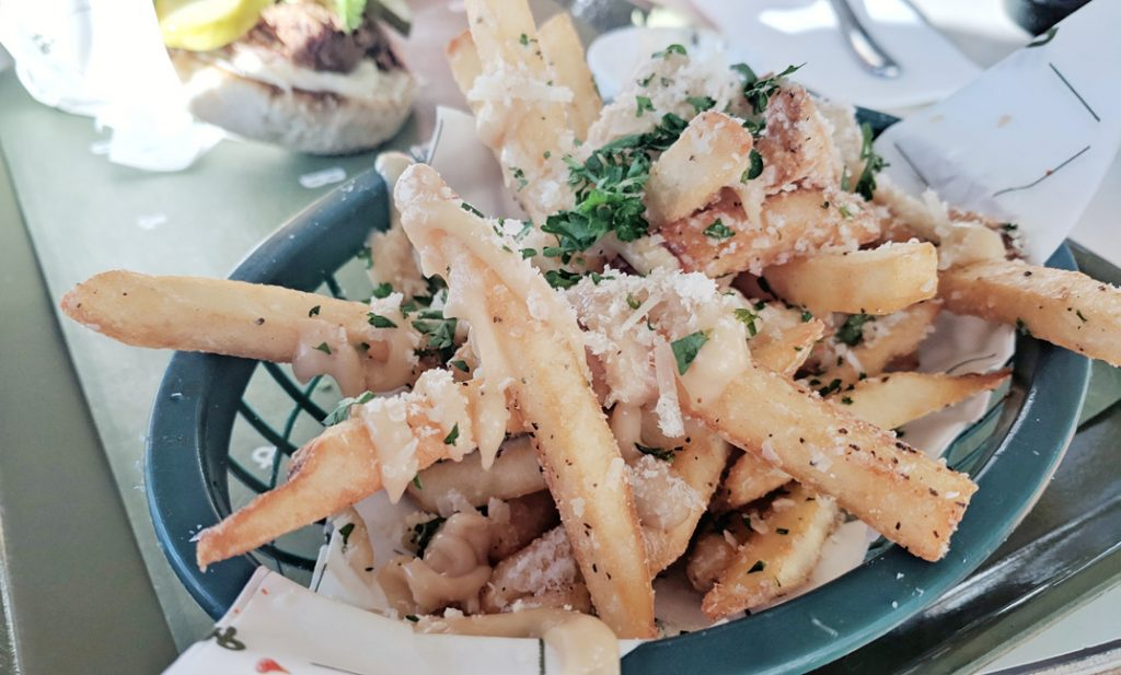 bells and whistles garlic fries