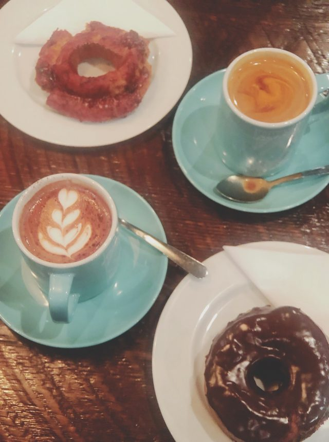 luckys doughnuts hot chocolate festival 2019