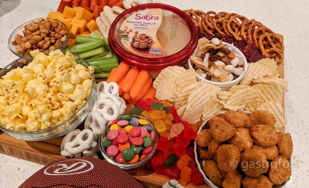sabra hummus party plate