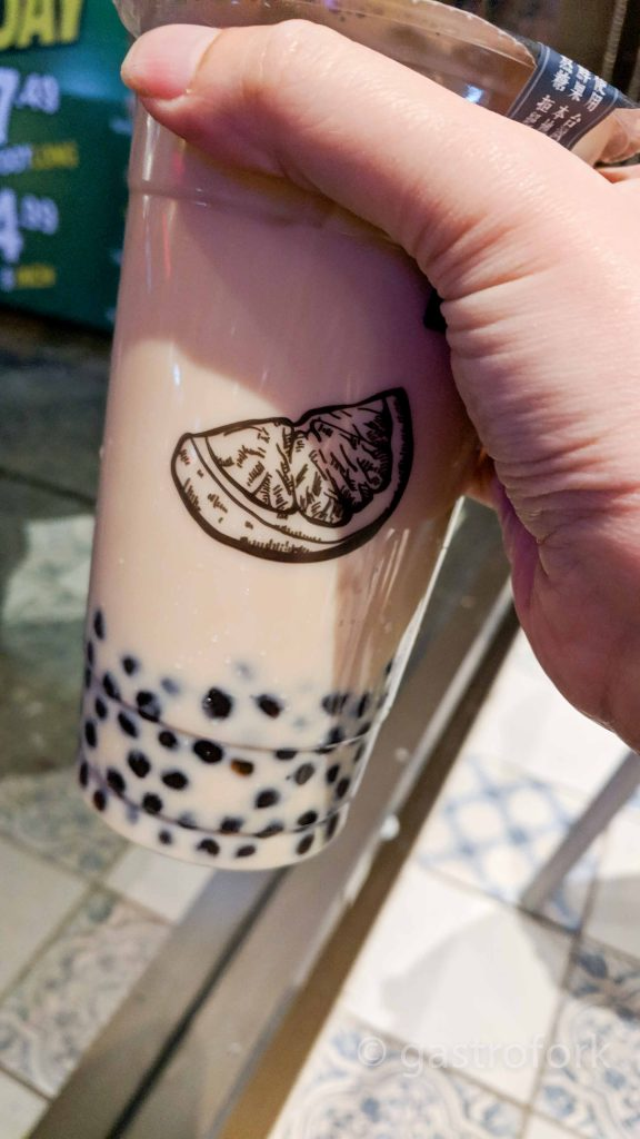 yi fang tea robson milk tea