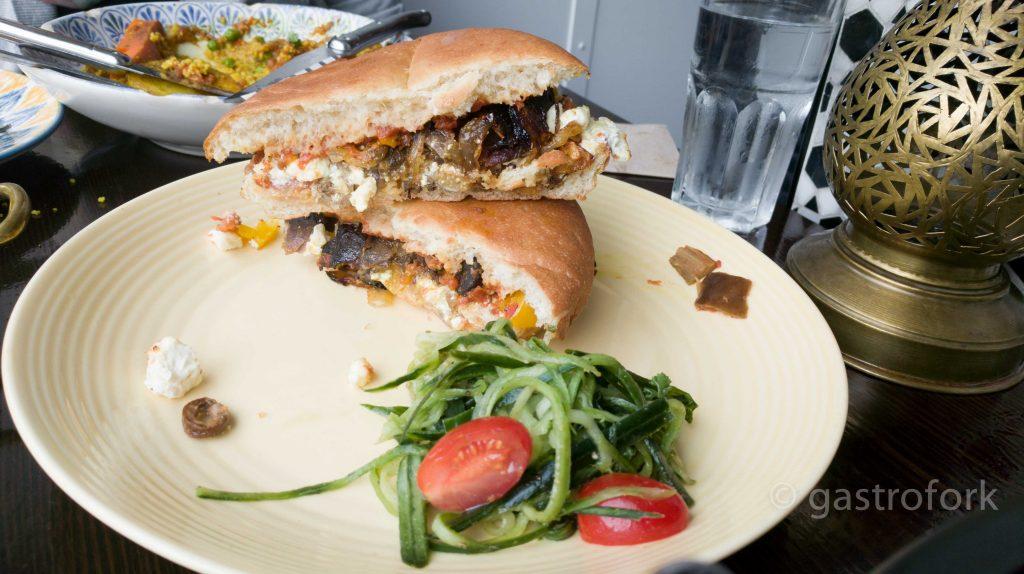 moltaqa moroccan cuisine gastown cumin lamb sandwich