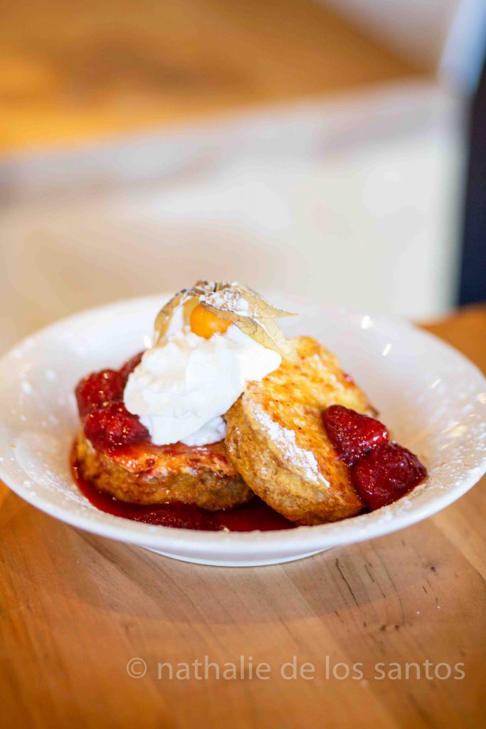 chewies biscuit co fruity french toast