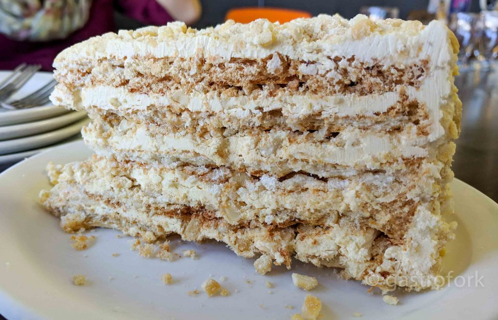 epic grill silogs sans rival cake