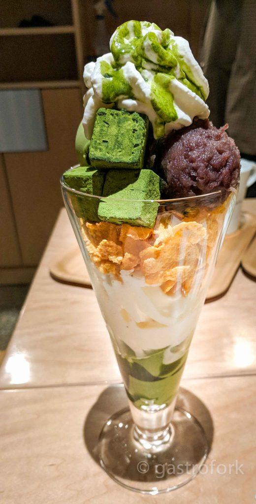 nana's green tea kerrisdale matcha parfait