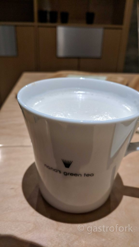 nana's green tea kerrisdale hojicha latte