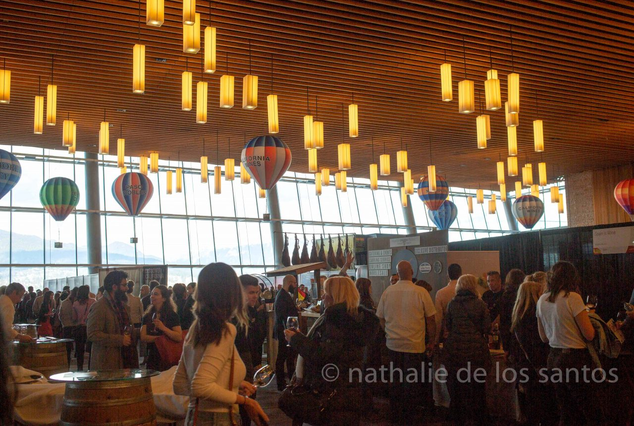 vancouver international wine festival tasting room 2019