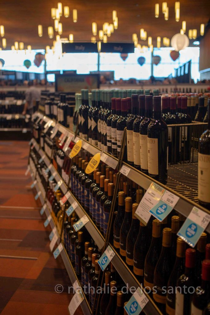 vancouver international wine festival tasting room 2019