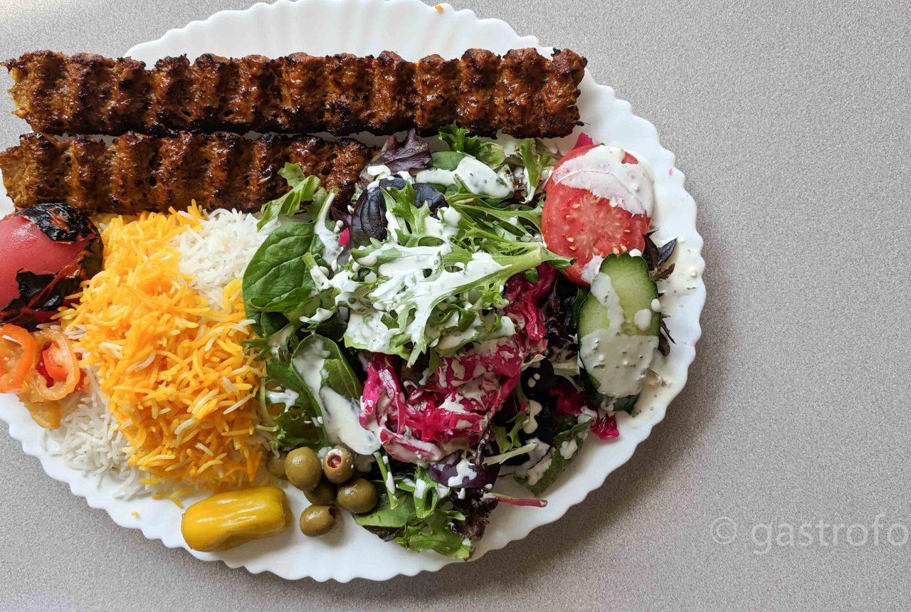 anar persian cuisine kubideh