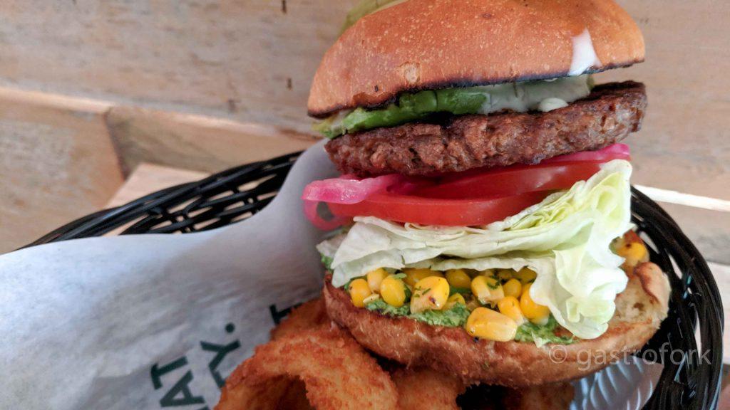 white spot avocado beyond burger