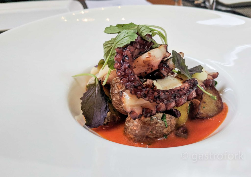 yew spring 2019 grilled octopus