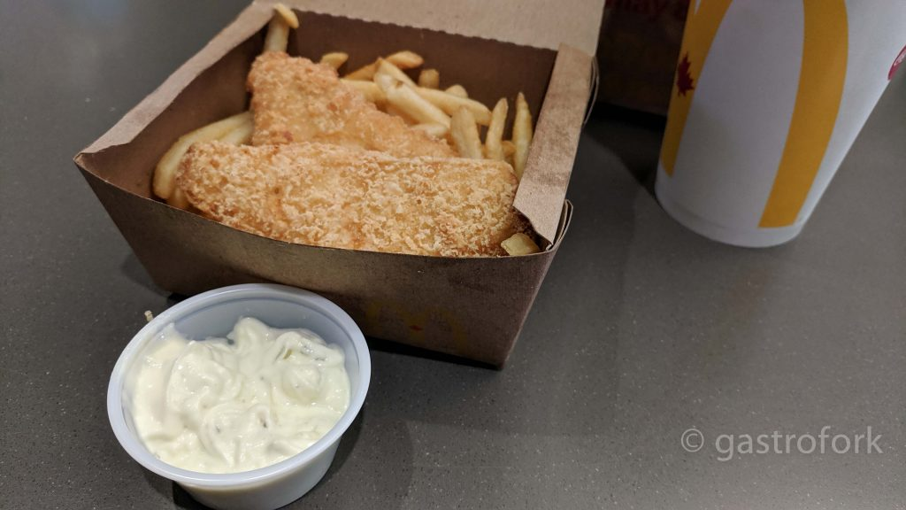 mcdonalds fish and chips