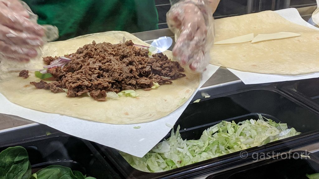 Chipotle Steak and Guac Wrap