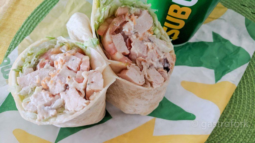 subway Signature Chicken Caesar Wrap