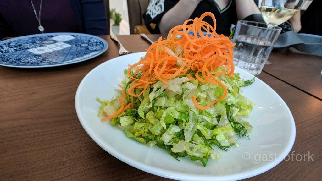 hydra green salad