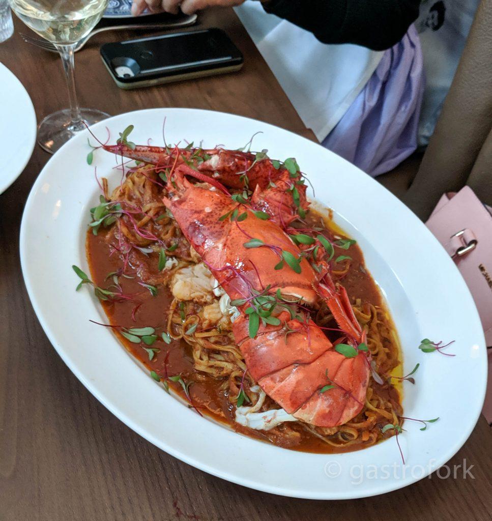 hydra lobster pasta