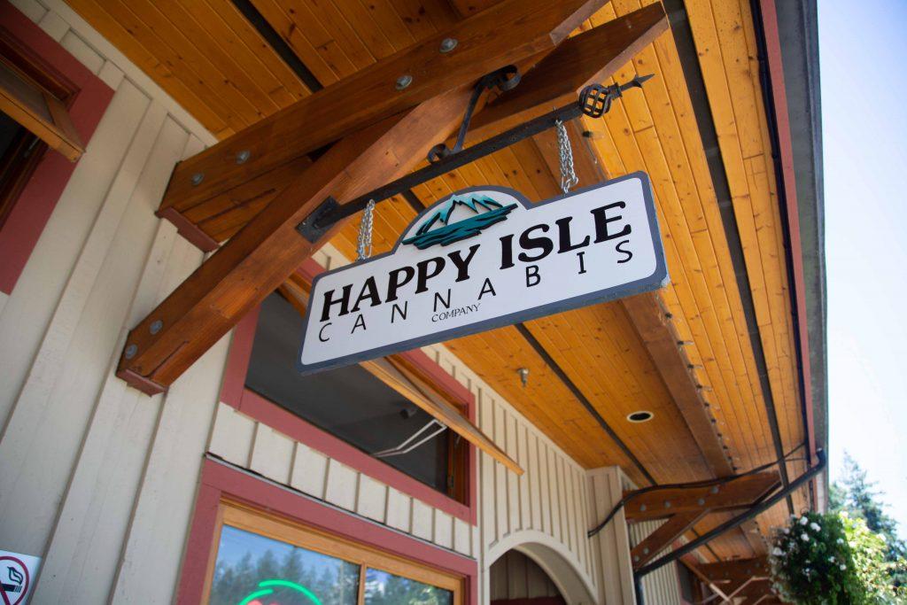 bowen island- happy isle cannabis