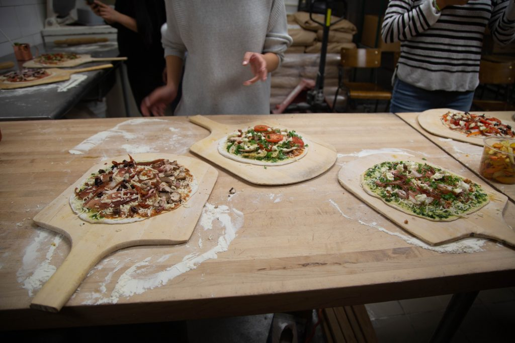 rocky mountain flatbread pizza making party