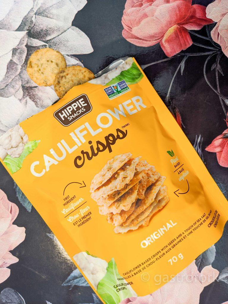 hippie snacks cauliflower crisps