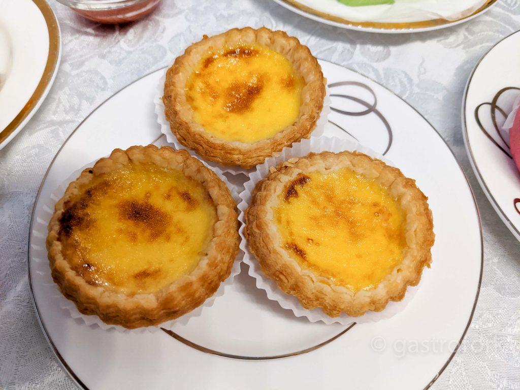 heritage eatery dim sum portuguese egg tarts